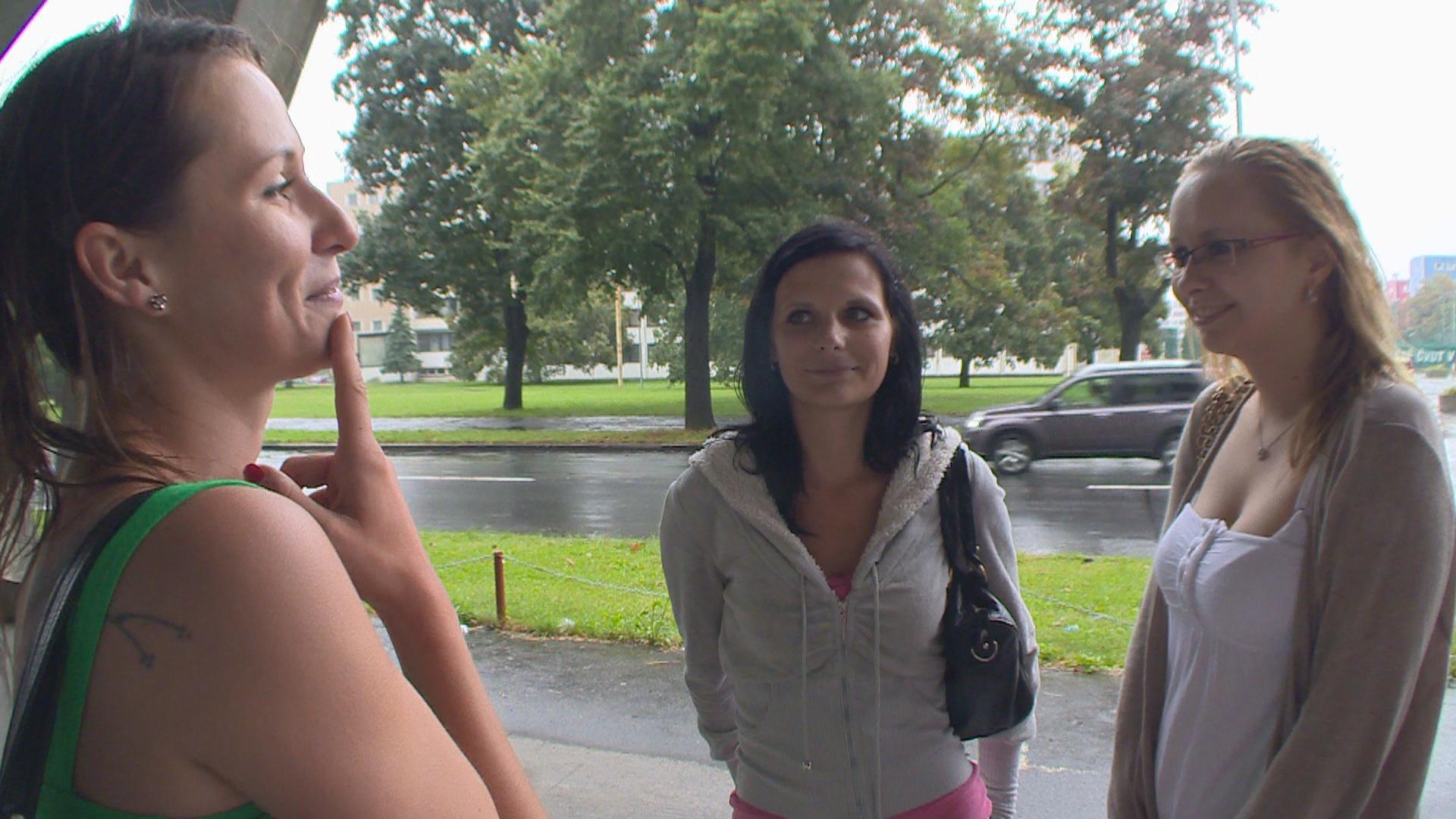 Czech Mom Daughter Gangbang